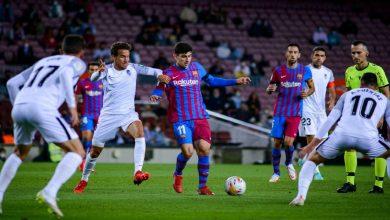 صورة برشلونة يعلن إصابة لاعبه في مباراة غرناطة ويكشف طبيعتها