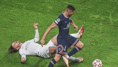 صورة تعرف على تنقيط حكيمي في مباراة لايبزيغ عن العصبة الأوروبية