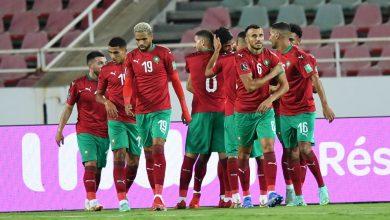 """صورة تصنيف """"فيفا""""..المنتخب المغربي يتراجع"""