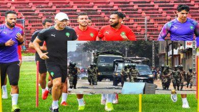 صورة تزامنا مع حضور بعثة المنتخب المغربي.. كوناكري تشهد إطلاقا للنار والحديث عن انقلاب عسكري