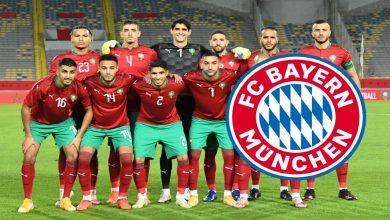 صورة بايرن ميونخ مهتم بنجم المنتخب المغربي