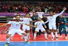 صورة خصم قوي للمنتخب المغربي داخل القاعة في ثمن نهائي كأس العالم
