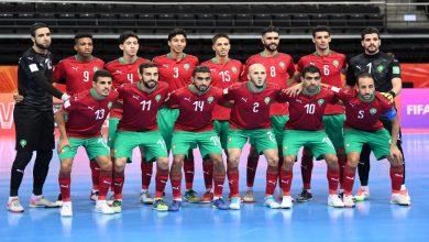 صورة ملخص مباراة المغرب وفنزويلا في كأس العالم داخل القاعة- فيديو