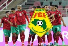 """صورة رسميا.. """"الفيفا"""" تحدد مكان وموعد مباراة المغرب وغينيا"""