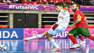صورة المغرب يفرض التعادل على البرتغال ويضرب موعدا مع فنزويلا في ثمن نهائي كأس العالم داخل القاعة -فيديو