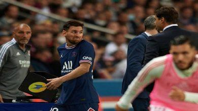 صورة بوتشيتينو يكشف ما دار بينه وبين ميسي لحظة خروجه غاضبا