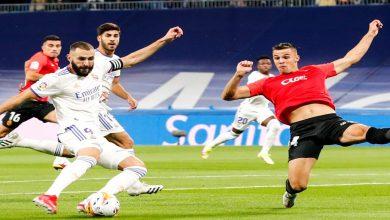 صورة ريال مدريد يُمطر مرمى مايوركا بستة أهداف