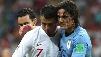 صورة بعد تنازله على الرقم 7 لصالحه.. رونالدو يوجه رسالة خاصة لكافاني