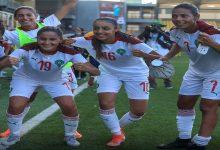 صورة تاغناوت تمنح منتخب السيدات الفوز على الكاميرون في دوري بوخاري -فيديو