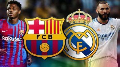 صورة ملخص مباراة برشلونة وريال مدريد في كلاسيكو الأرض