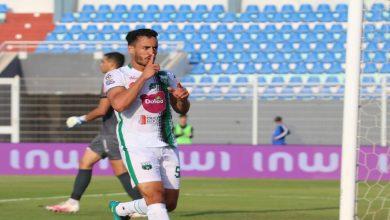 صورة في أول مباراة رفقة مدربه المصري.. برشيد يطيح بشباب المحمدية -فيديو
