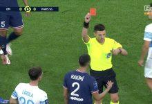 صورة هي الأولى في مساره الاحترافي.. حكيمي يتحصل على البطاقة الحمراء أمام مارسيليا- فيديو