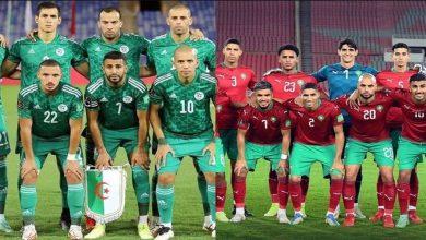 """صورة تحديد سبب تقدم المنتخب المغربي على نظيره الجزائري في تصنيف """"الفيفا"""""""