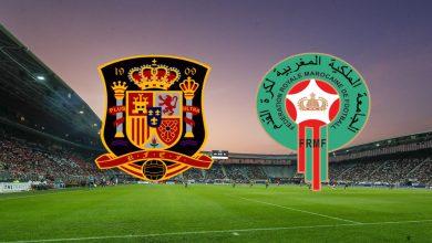 صورة إسبانيا تواجه المغرب وديا