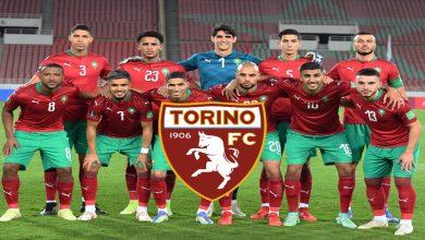 صورة نجم المنتخب المغربي في طريقه إلى تورينو