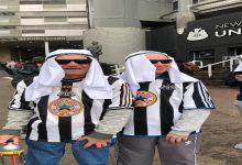 صورة الزي العربي ممنوع في ملاعب إنجلترا -صورة