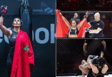 صورة المقاتلة غزلان زواق تحصد لقبا جديدا في الفنون المختلطة MMA
