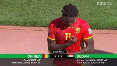 صورة تصفيات المونديال.. السودان تقرب المغرب من التأهل للدور الفاصل بتعادلها مع غينيا