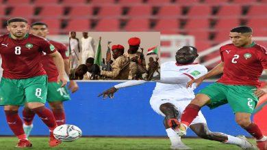 """صورة بعد غينيا.. انقلاب عسكري في السودان قبل مباراة """"صقور الجديان"""" مع المنتخب المغربي"""