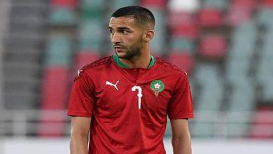 صورة بعد عبور المنتخب المغربي للدور الفاصل من التصفيات.. زياش يغضب المغاربة